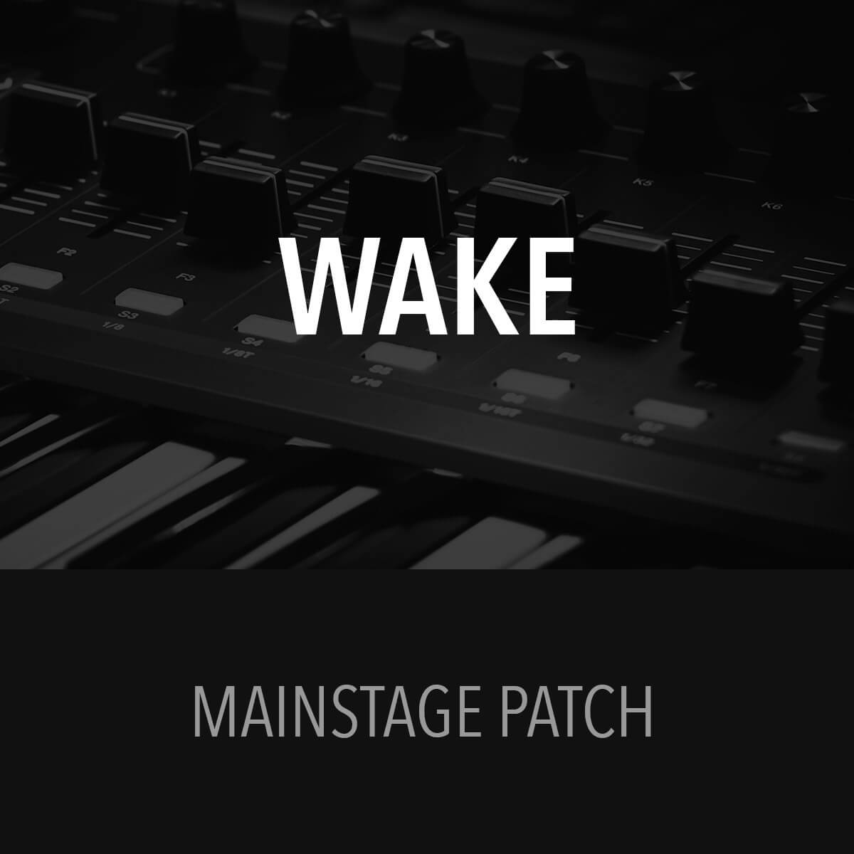 MainStage Patch - Wake - Hillsong Young & Free