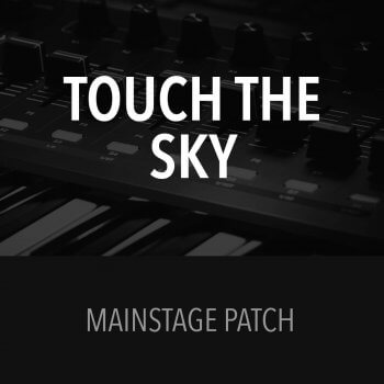 MainStage Patch - Touch the Sky - Hillsong United