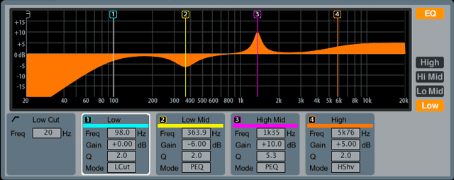 Parametric EQ Example
