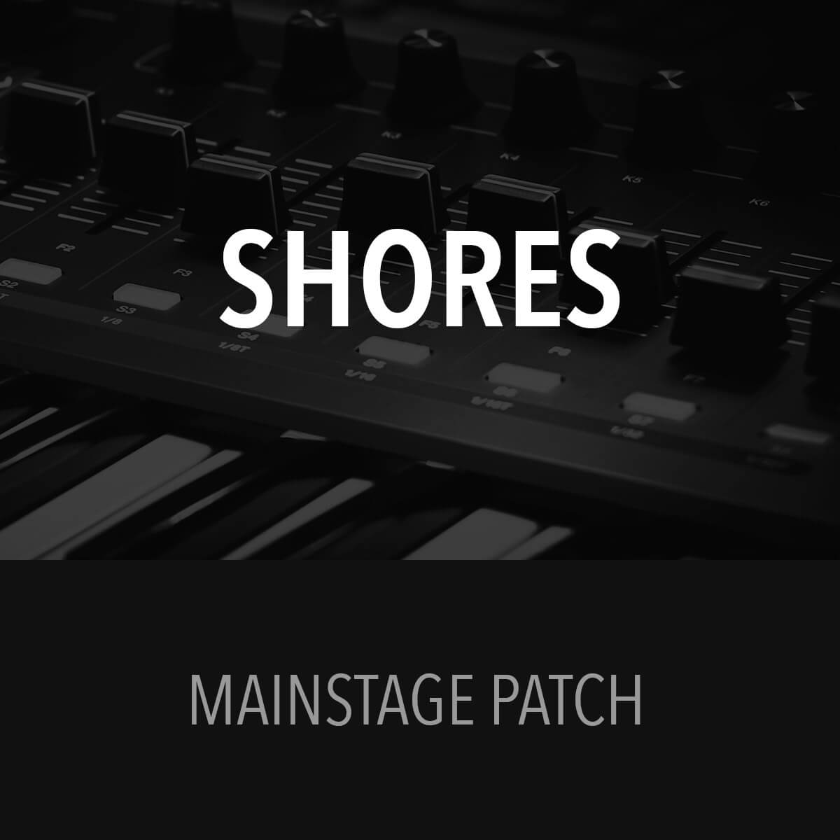 MainStage Patch - Shores - Bryan & Katie Torwalt