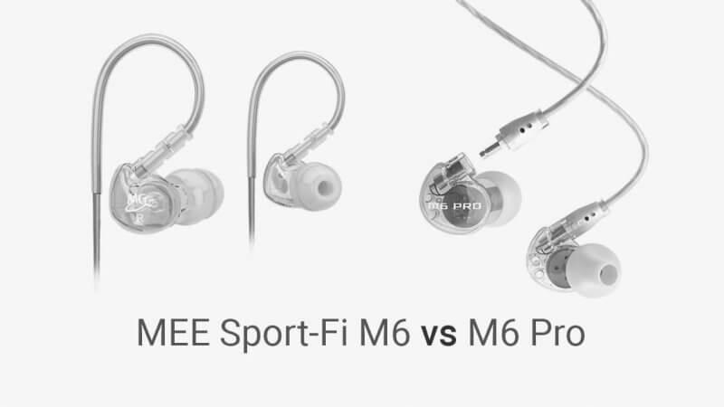 MEE Sport-Fi M6 vs M6 Pro (Review)