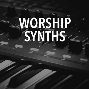 Worship Synths - Mainstage Patch Kit