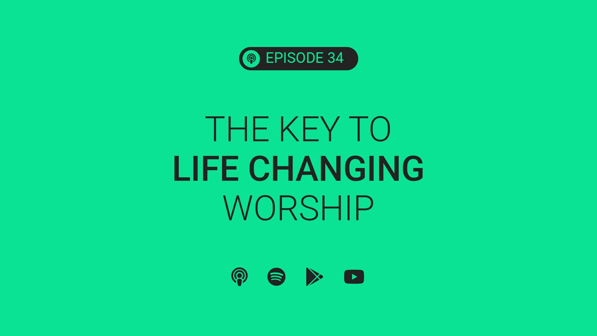 Ep 34: The Key to Leading Life Changing Worship ft. Anthony Washington